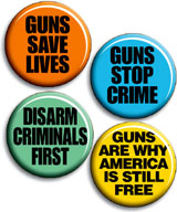 Gun Rights Buttons